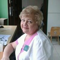 Любовь, 62 года, Козерог, Москва