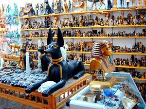 Особенности шоппинга в Египте