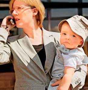 Женская психология: Какой выбор сделать между работой и семьей
