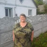Люба, 62 года, Рак, Полтава