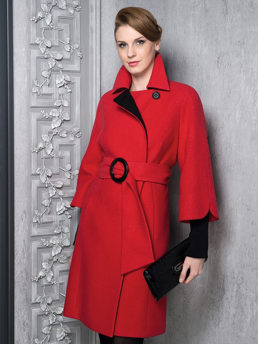 Красивое необычное женское пальто фото этом его