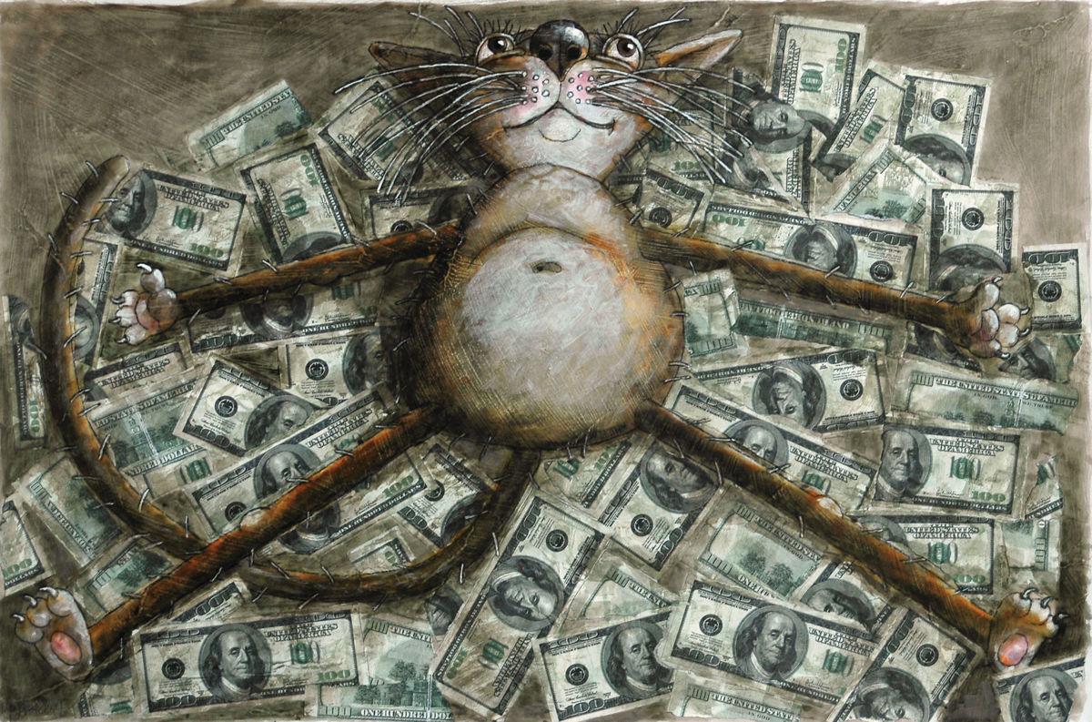 Интересные картинки про деньги